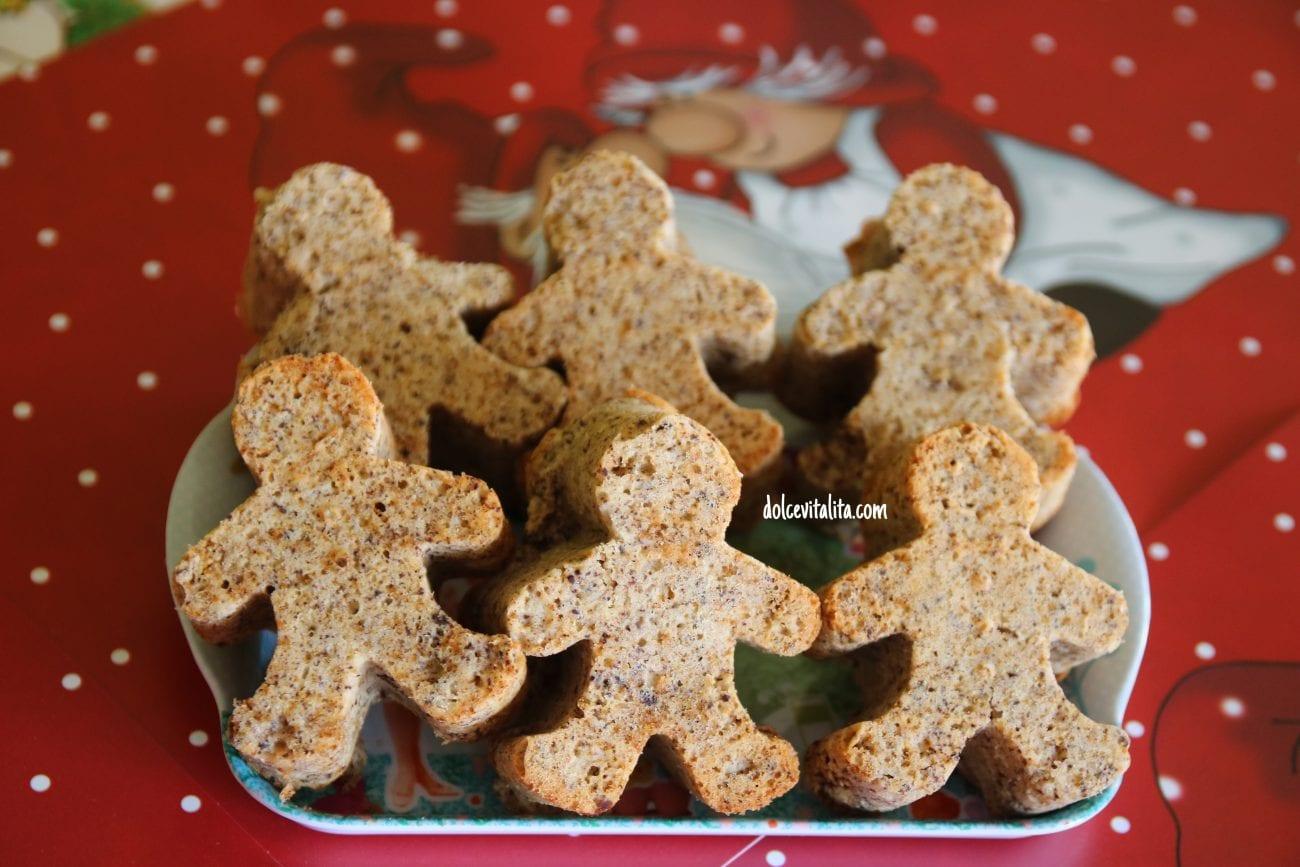 Tortine natalizie senza glutine